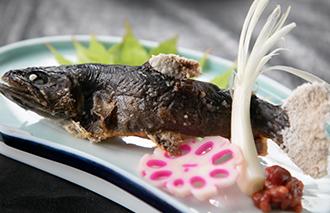岩魚の塩焼990円(税込)
