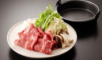 牛すき焼き3,500円(税込)
