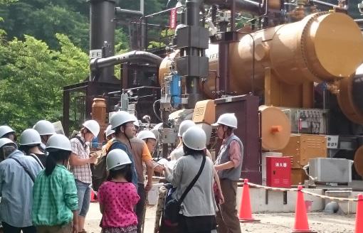 土湯温泉バイナリー発電