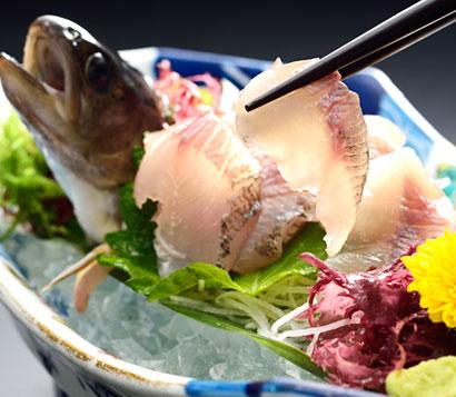 特選 岩魚料理