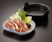 雉肉のしゃぶしゃぶ 1,500円(税別)
